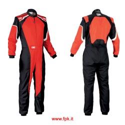 Tuta Omp KS-3 Suit my2019 ROSSO/NERO