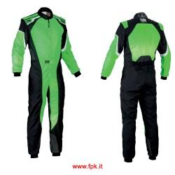 Tuta Omp KS-3 Suit my2019 VERDE FLUO/NERO