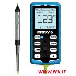 Pirometro digitale pneumatici con sonda ad ago Prisma Elettronics