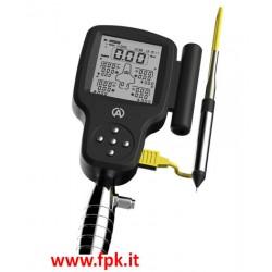 Manometro gomme digitale Alfano Tyrecontrol 2 con sensore