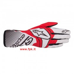 Alpinestars Guanto Tech-1 K Race V2 Glove Bianco/Rosso