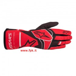 Alpinestars Guanto Tech-1 K Race S V2 Solid Gloves RED/BLACK/GRAY