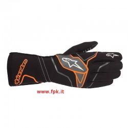 Alpinestars Guanto Tech-1 Kx V2 Gloves Orange/Grigio/Nero