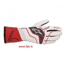 Alpinestars Guanto Tech-1 Kx V2 Gloves Rosso/Nero/Bianco