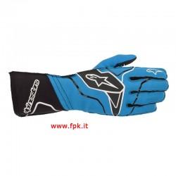 Alpinestars Guanto Tech-1 Kx V2 Gloves Turchese/Nero/Bianco