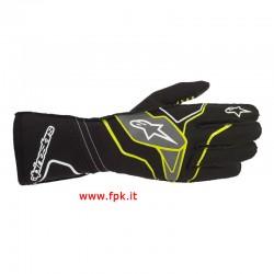 Alpinestars Guanto Tech-1 Kx V2 Gloves Verde Lime/Nero/Bianco