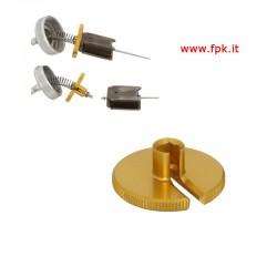 KM154 Chiave Smontaggio Spillo Conico VHSH 30 - Alluminio anodizzato oro