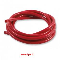 Tubetto in Silicone Rosso o blu per Overflow Carburatore (1mt)