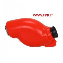 Filtro aria/Silenziatore d'aspirazione modello ALIEN per categoria Minikart (gruppo 3), omologazione CIK/FIA 005-SI-19 - Colore ROSSO