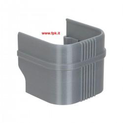 Protezione Invernale per cilindro Iame X30 in plastica Grigia.