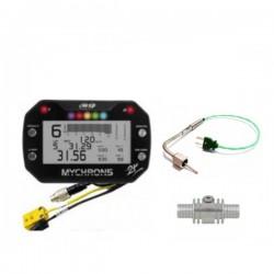 MyChron 5 2t + sonda gas scarico compatibile + adattatore sonda acqua