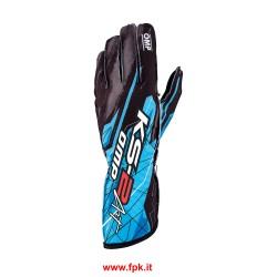 Guanto kart entry level KS-2 ART Gloves Nero/Azzurro