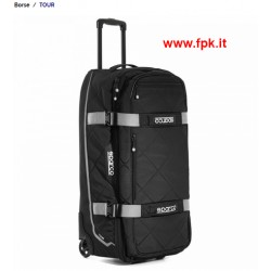 TOUR Borsone Trolley Nero/Silver