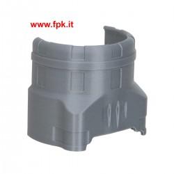 Protezione per cilindro TM KZ colore Grigio.