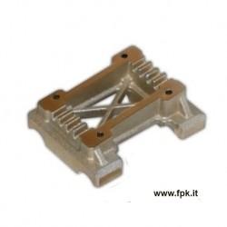 Piastra motore inclinata in magnesio per MINI - BABY KART - IAME X30 60 e 125 - ROTAX