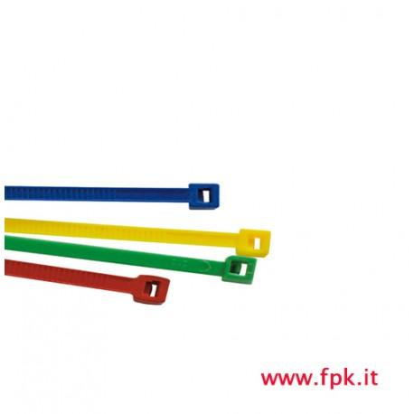 Confezione di Fascette  a strappo 200x4, 6 colorate