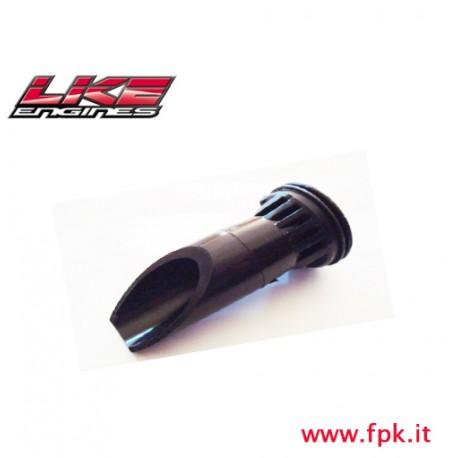 Condotto silenziatore Aspirazione diametro 22 tagliato LKE figura 106