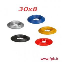 Rondella in resina 30x8
