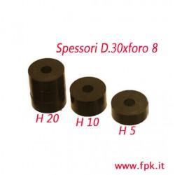 Distanziali sedile D.30xforo 8x20-10-5