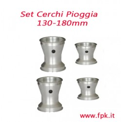 Set Cerchio 130-180mm per Gomme Pioggia