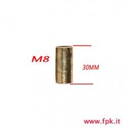 Colonnina  M8 13X30mm in Acciaio