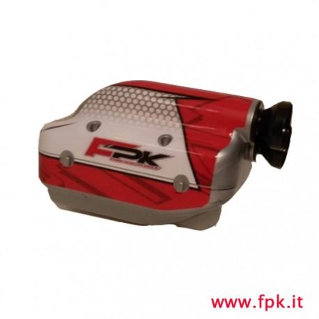 Silenziatore Nox con adesivo FPK
