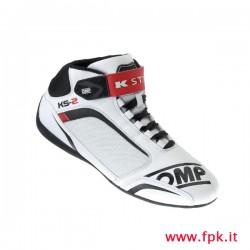 Scarpa OMP KS-2 bianco/nero/rosso