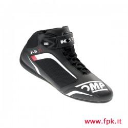 Scarpa OMP KS-2 nero/bianco/rosso