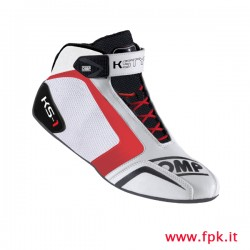Scarpa OMP KS-1 bianco/nero/rosso