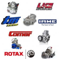 Motori e Ricambi IAME, COMER, FIM, LKE, ROTAX, TM